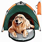 Cat Caves & Case, Tenda Pet Con Carry Bag, Portatile Pieghevole Protezione Solare Impermeabile, Facile Installare E Prendere Giù-Large