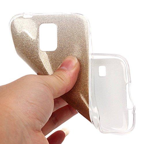 Cozy Hut iPhone SE / 5 / 5S Shell fit ultra sottile Flessibile TPU Gel Shell Custodia Case Cover Protettivo Protettiva Skin Caso,TPU Silicone Bling Caso Cover Sottile Case / Cover /Cover Shell / Prote oro Giallo