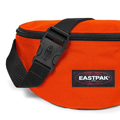 Eastpak EK07437A Marsupio Sportivo, 23 cm, 2 L, Viola Highfive Arancione (Carved Pumpkin)