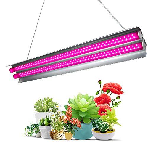 Lemonmax LED Pflanzenlampe, 20 Zoll 60W integriertes