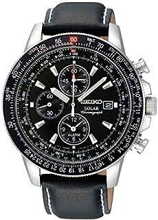 Seiko Men's Analogue Quartz Watch with Leather Strap - SSC009P3 (B005I2KDR0) | Amazon price tracker / tracking, Amazon price history charts, Amazon price watches, Amazon price drop alerts