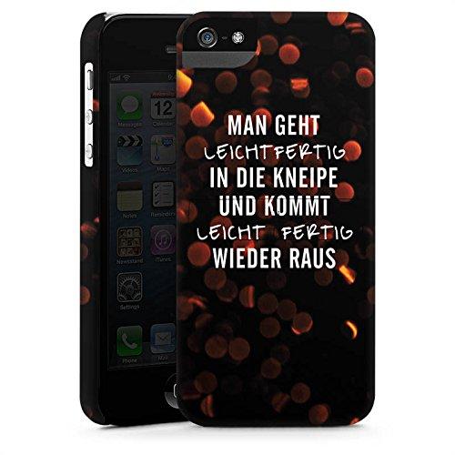 Apple iPhone X Silikon Hülle Case Schutzhülle Kneipe Humor Spruch Premium Case StandUp