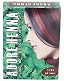 Adore Henna Hair Coloring Powder, Dark Brown, 60 g