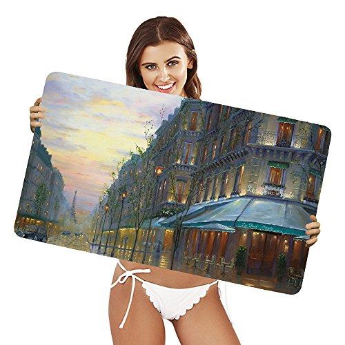 Preisvergleich Produktbild XtremePads [ Große XXL Gaming-Maus-Pad / Mat Schreibtischunterlage ] - ( Artistic Place Painting Paris France Eiffel Tower )
