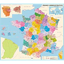 France Administrative Flat Map 2014: IGN70018 (Ign Map)