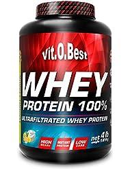 Vit-O-Best Whey Protein 100%, Proteínas, Sabor a Chocolate - 1814 gr