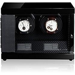 Luxwinder Uhrenbeweger Flint LV2 für 2 Uhren by Modalo 620882 carbon