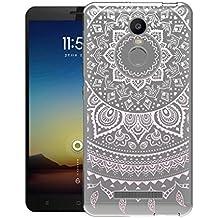 "Xiaomi Redmi Note 3 Funda , ivencase Transparente Silicona TPU de Flexibilidad Carcasa Case Bumper Ultra Delgado Espalda Case Cover para Xiaomi Redmi Note 3 5.5"""