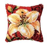 Vervaco PN-0014180 Knüpfkissen 3614 Blume