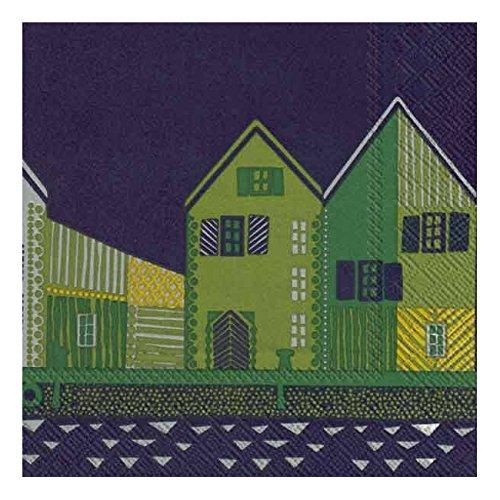 marimekko-finnish-designer-vanhakaupunki-blue-houses-luxury-traditional-paper-table-napkins-20-in-pa