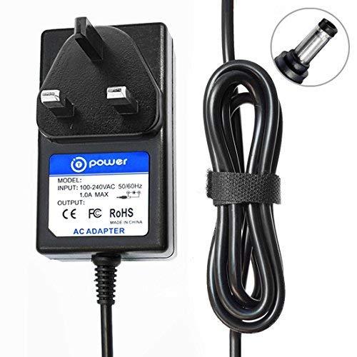 T-Power 12V 1,5A (2A kompatibel) (mit 6,6Füße Lange Kabel) DC Power Adapter