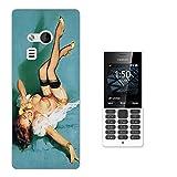 000678 - Vintage Pin Up Girl Sexy Design Microsoft Nokia