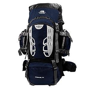 DRHYSFSA-Sports Mochila de Senderismo Ocio Camping Bolsa de Senderismo 80L Mochila de Alpinismo Profesional Bolsa de Alpinismo al Aire Libre de Gran Capacidad Trekking Viaje Monta/ña Acampada Escalada