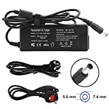 ANITEE 19.5V 2.31A 45W Laptop AC Adapter Charger Power Cord Supply for DELL Inspiron 11 13 14 3000 3451 7000 15 17 Latitude 12 13 14 Vostro 14 15 Ultrabook XPS 11 12 13 L221X L321X Series 4.5 * 3.0mm