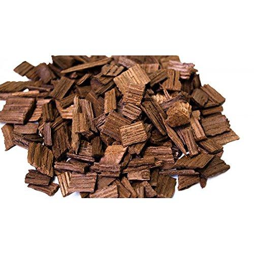 Eichenholzchips Amerikanisch (Medium Toasted) 100g - Amerikanische Eichenholzchips | Eichenholzspäne | Räucherholz | Eichenholz Chips | Holzspäne | Holzfässer Medium Chip