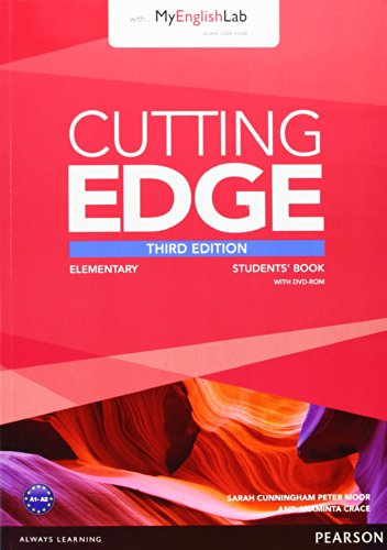 Cutting Edge 3rd Edition Elementary Students' Book with DVD and MyEnglishLab Pack