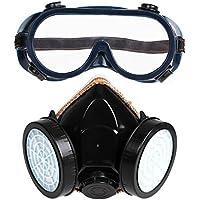 Gowind6 Doppelrohr-Staubmaske mit Augenmaske, 2 Stück (PVC) preisvergleich bei billige-tabletten.eu