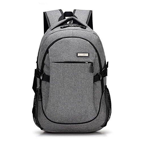 Preisvergleich Produktbild TT Männer Rucksack Mode Einfache Großraum-Computer-Tasche Reisetasche