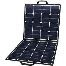 Suaoki - 100W Cargador Panel Solar Placa Solar Plegable para Smartphones y Dispositivos Electrónicos con USB de USB 5V/2A,DC18V/5A