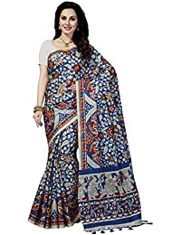 Rani Saahiba Art Silk Kalamkari Printed Saree