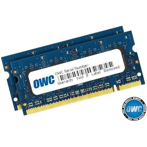 OWC 6GB (2GB + 4GB) 667MHz DDR2 SO-DIMM 200 Pin módulo de - Memoria