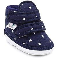 CHIU Chu-Chu Black Shoes with Double Strap for Baby Boys & Baby Girls