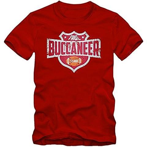 I'm a Buccaneer #8 Camiseta | Hombre | Football | Super Bowl | Champion | American Sports | Fanshirt | T-Shirt