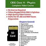 CBSE Class 11 Physics Complete Video Course SD Card