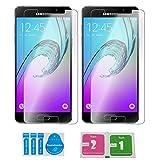 2x »Samsung Galaxy A5 2016« Panzerglas Displayschutzfolie | Blasenfrei | Ultra-HD | Bruchsicher | Rytek Panzerglasfolie ►lebenslange Garantie