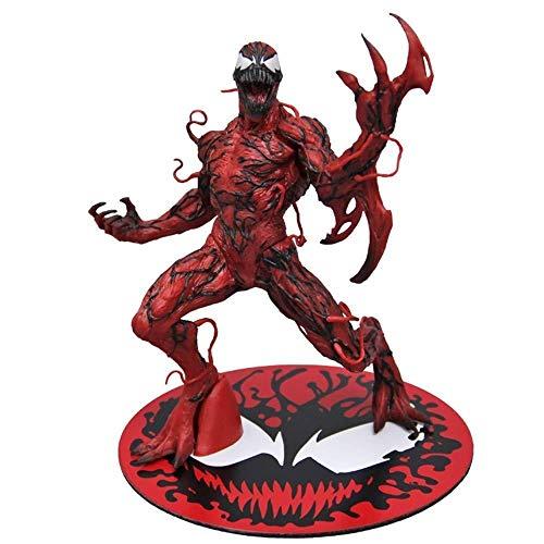 MA SOSER Marvel Legends Carnage Action Figure 6 Zoll, Carnage Toys Modell Dekoration Statue - - Carnage Marvel Kostüm
