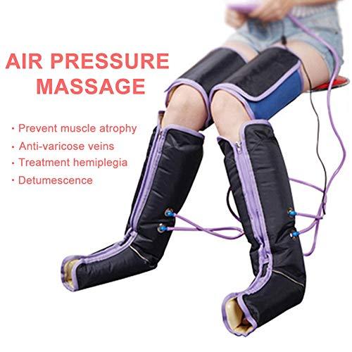 Cocoarm Luftkompression BeinMassager Massagegerät Druckwellen Massage Gerät mit Handheld Controller 9 Intensitäten für die Beine und Arm -