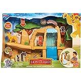 Disney – La Garde du Roi Lion – Défends La Terre des Lions – Décor + 1 Mini Figurine