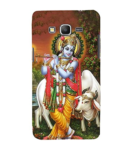 Lord Krishna Hard Polycarbonate Designer Back Case Cover for Samsung Galaxy Grand Prime :: Samsung Galaxy Grand Prime Duos :: Samsung Galaxy Grand Prime G530F G530FZ G530Y G530H G530FZ/DS