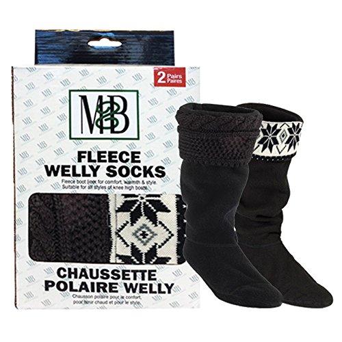 Moneysworth and Best Fleece Welly Socks
