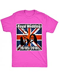 8TN Royal Wedding Harry & Meghan Unisex-Children T Shirt