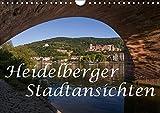 Heidelberger Stadtansichten (Wandkalender 2019 DIN A4 quer): Bilderreise durch die romantische Stadt am Neckar (Monatskalender, 14 Seiten ) (CALVENDO Orte)