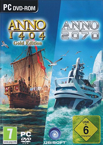 Anno 1404 Gold Edition and Anno 2070 Double Pack (PC)