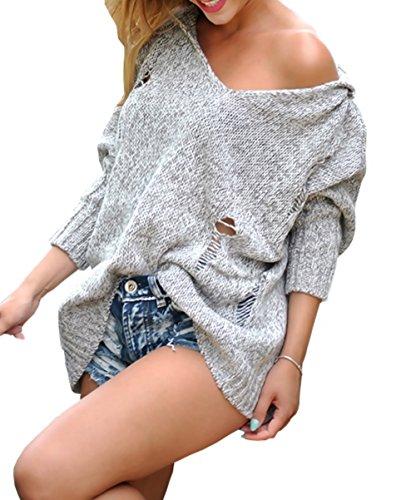 Lsecret  - Pull - Femme Taille unique Beige