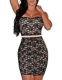 982729a377 Amazon.it: Pizzo - MYWY / Vestiti / Donna: Abbigliamento