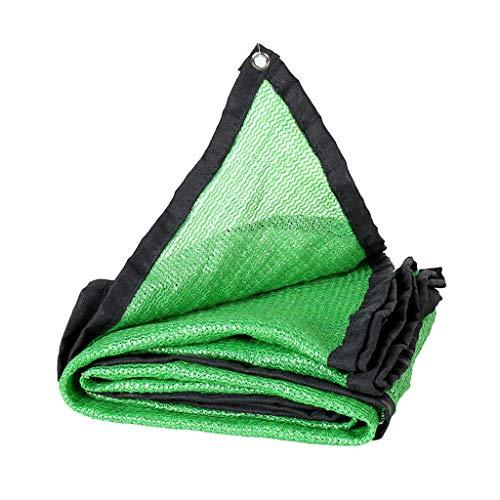 LAOSUNJIA Abat-Jour d'épaississement extérieur en Filet de polyéthylène Haute densité (Color : Green, Size : 5M×6M)