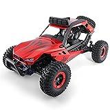 lennonsi RC Autos Remote Control Racer 2.4G, Ferngesteuertes Auto Wasserdicht, 1:12 HIgh Speed Geländefahrzeug 45KM/h 38.5*23*18 cm (rot)