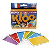 KLOO's Learn to Speak French Language Card Games Pack 2 (Decks 3 & 4)