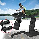Auntwhale Cambio della leva del freno della bici Parti della bici sinistra destra a doppio controllo della velocità ( 1 paio )