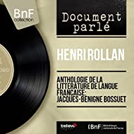 Anthologie de la littérature de langue française: Jacques-Bénigne Bossuet (Mono Version)