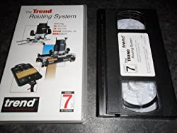 The Trend Routing System Vhs Video Featuring T5 Router, T9 Router Dj300 Dovetail Jig & The Minimach Video 7