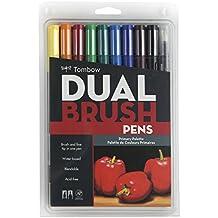 Pennarelli Tombow doppio pennello penna imposta 10/Pkg-primario