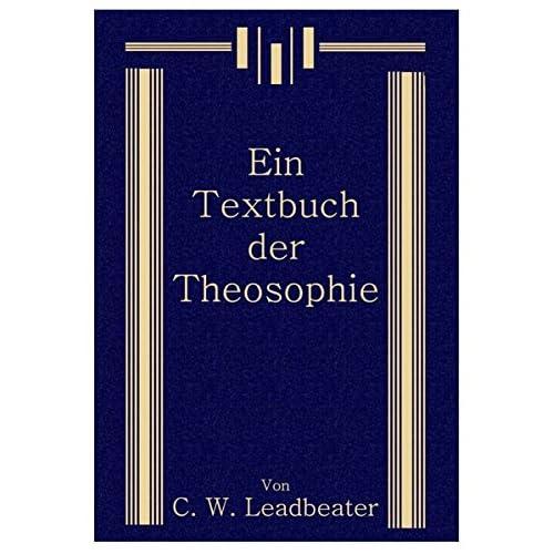 Ein Textbuch der Theosophie (Livre en allemand)