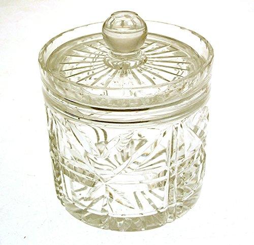 cristallo-al-piombo-grande-con-coperchio-pentola-starburst-design-clt93