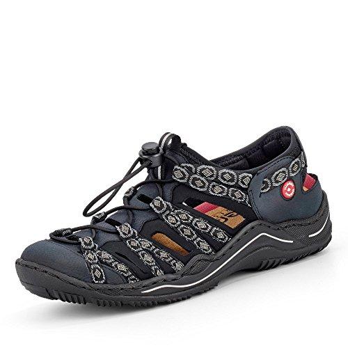 Rieker Damen Sandalen Blau, Schuhgröße:EUR 40