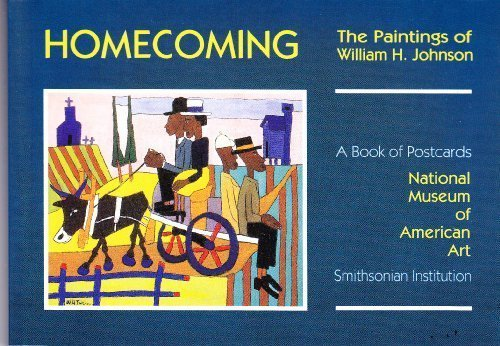 Homecoming Paintings of William H. Johnson Postcard Book